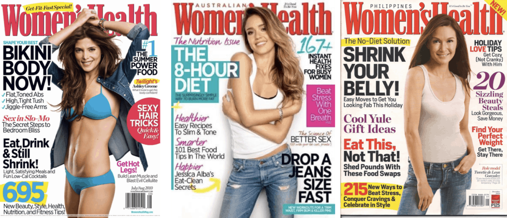 magazines don't help eating disorder recovery