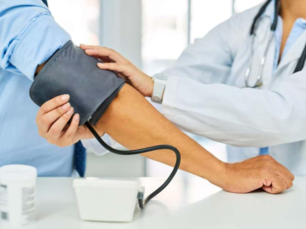 Health assessment blood pressure
